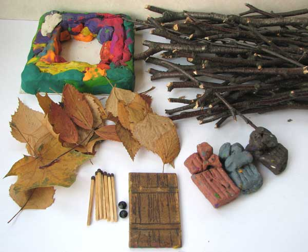 Поделки из природного материала из веток фото